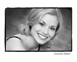 Gretchen bw headshot