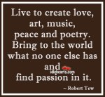 Live-to-create-love-art